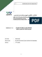 Compta.de La Paie Et Declarations Fiscales Et Sociales