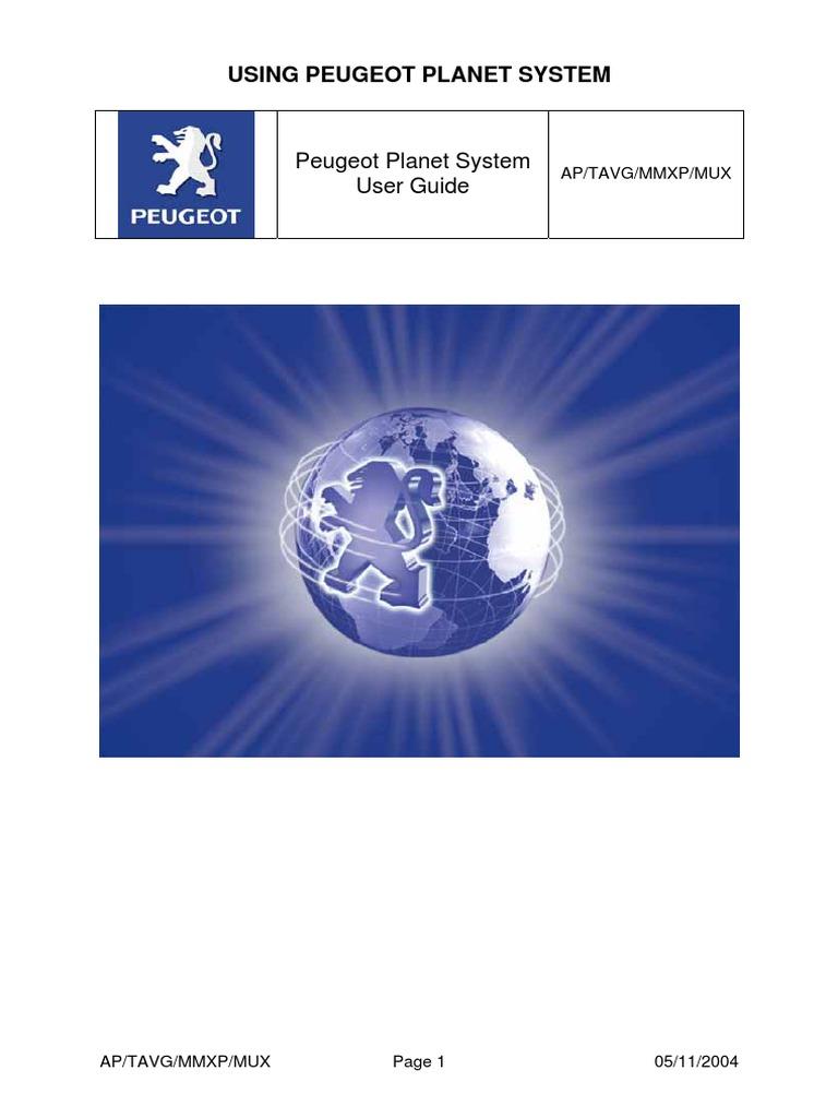peugeot planet guide eng icon computing microsoft windows rh scribd com Systeme International d'Unites SYSTEME Digestif