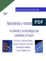 Tema 14. Introduccion a La Nanociencia