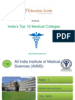 India's Top 10 Medical Colleges