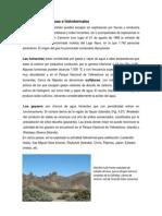 Erupciones Gaseosas e Hidrotermales