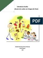 Literatura Surda - Produções Culturais de Surdos Em Língua de Sinais