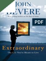 Extraordinary by John Bevere - Excerpt
