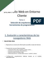 Tema1 Seleccion de Arquitecturas y Herramientas de Programacion