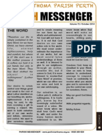 Edition 72 - News Letter October 2014