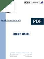 Périmétrie du champ visuel