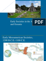 early societies in the americas and oceania