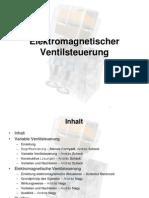 Elektromechanische Ventiltrieb