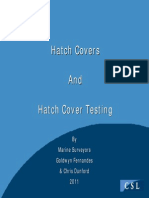 Hatch Cover Types and Inspection