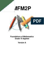 mfm2p - unit 1