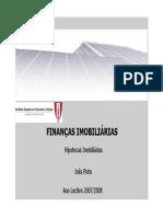 Hipotecas e Indices