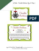 Chocolate Scotcheroos Recipe & Label - Tomkat Studio