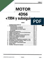 Motor 4D56