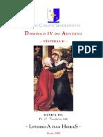 Domingo IV do Advento - Vésperas II