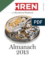Uhren Almanach 2013