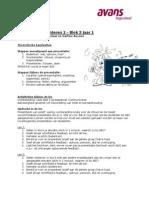 p3 module presenteren 2 hand-out def