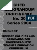 Credit Curriculum