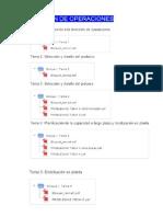 Temas y Planificaciond e La Asignatura