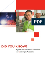 A Guide to Vocational Education in Australia