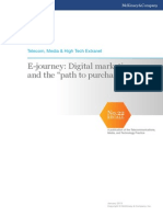 E-journey Digital Marketing and the Path to Purchase