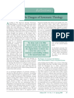 Dangers of Theology
