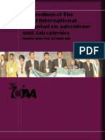 3rd IOAA Proceedings