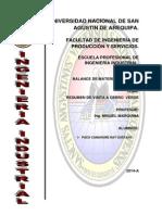 Cerro Verde Resumen Oficial