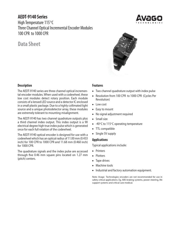 AV02-1101EN | Detector (Radio) | Light Emitting Diode