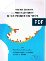 Manual for Zonation on Areas Susceptible