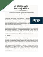 Conceptos Básicos de Argumentacion Jurídica