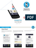 Phonotto User Manual
