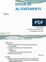 Presentation of Financial Statements 11