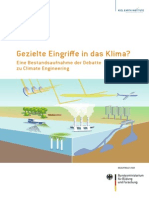 Sondierunsgsstudie Climate Engineering