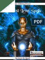Rite Publishing - 101 1st Level Spells