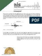 How Do I Read a Seismogram