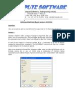 CADWorx Plant FAQ