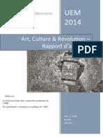 Art, culture et révolution