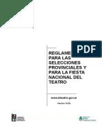 REGLAMENTO Selecciones Pciales. y Fiesta Nacional del Teatro version 14.04.doc
