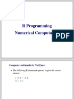 R Numeric Programming