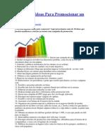Más de 30 Ideas Para Promocionar un Negocio.docx
