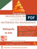 04 - Antígenos Ou Imunógenos FARMÁCIA