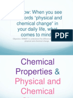 7th Grade-physical or Chemical-change