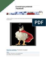 Ello La Red Social Que Pretende Desplazar a Facebook