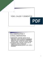 15. Yeso, Cales y Cementos 2014