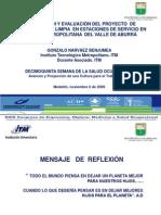 (C) Diapositivas Ponencia Congreso de Salud Ocupacional (CSOYA - Noviembre 2009)