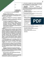 (L) Modificación de la Ley General de Sanidad Agraria