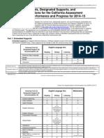 matrix for sbac 2014-2015