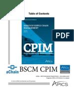 aChain APICS - BSCM CPIM APICS - http://www.achain.com.br/
