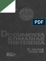 Documenta Romaniae Historica. Seria a Moldova. Volumul 25 1639 - 1640