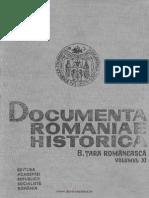 Documenta Romaniae Historica. Seria B Ţara Românească. Volumul 11 1593-1600 Domnia Lui Mihai Viteazul